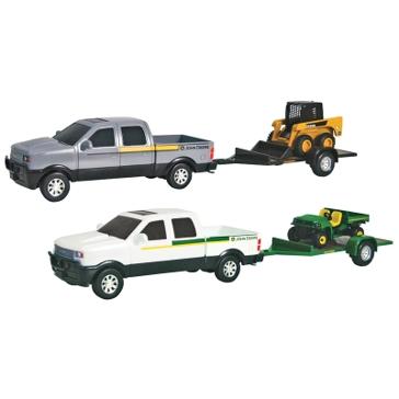 Tomy John Deere Pickup Hauling Set Asst 37510T