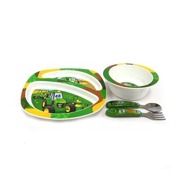 Tomy John Deere Feeding Set 4-pc Y10649
