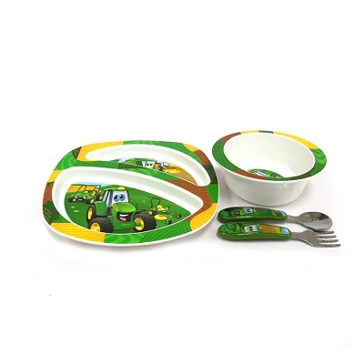 Tomy John Deere Feeding Set 4-pc Y10649