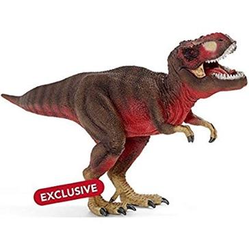 Schleich Red Tyrannosaurus Rex Dinosaur 72068