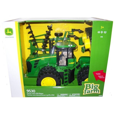 Ertl John Deere 1 16 Scale 9530 4wd Tractor With Ripper 46766