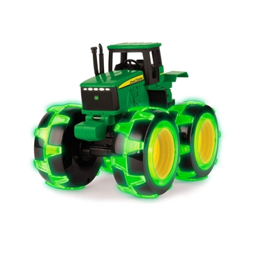 "Ertl John Deere Monster Treads 8"" Light Up Tractor Toy 46434"