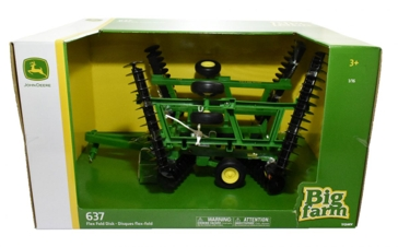 Big Farm John Deere 1:16 Scale Flex Fold 637 Disc 46764