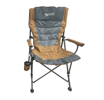 F&H Outfitters Teton XL Hard Arm Chair - Gold Color