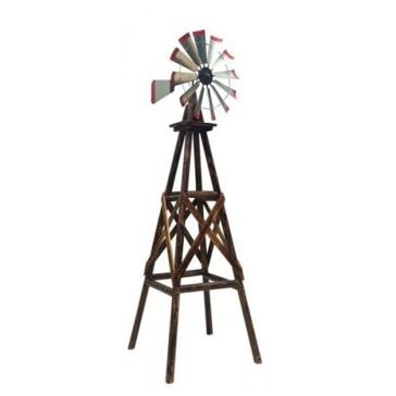 Char Log 9ft Windmill