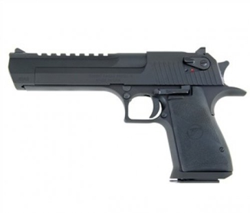 "Desert Eagle .50AE Semi-Automatic Pistol  6"" Barrel Black"