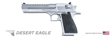 "Desert Eagle .50AE Semi-Automatic Pistol  6"" Barrel Stainless Steel"