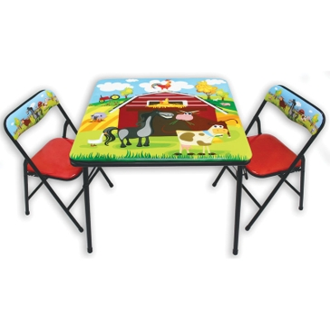Group Sales Barnyard Fold-Up Table and Chairs