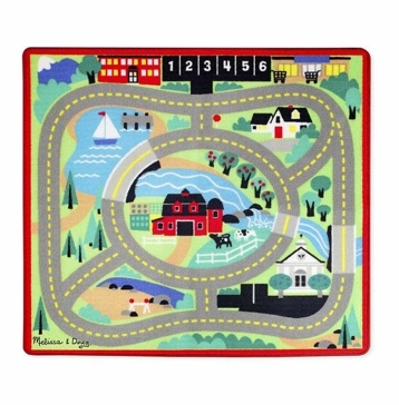 Melissa and Doug Round the Town Rug