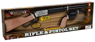 Kidz Toyz Western Legends Rifle & Pistol Set