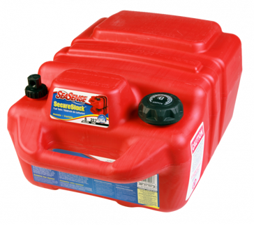 SeaSense 6 Gallon SecureStack Portable EPA Compliant Fuel Tank