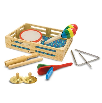 Melissa & Doug Band-in-a-Box - Clap! Clang! Tap! 488