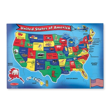 Melissa & Doug U.S.A. (United States) Map Floor Puzzle - 51 Pieces