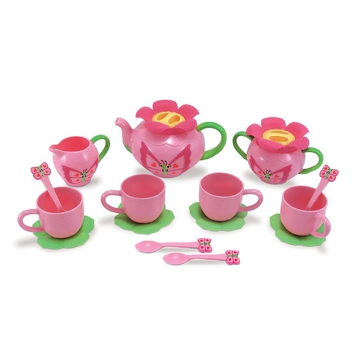 Melissa & Doug Bella Butterfly Pretend Play Tea Set