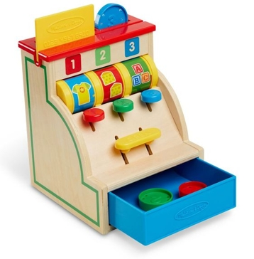Melissa & Doug Spin & Swipe Cash Register