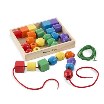 Melissa & Doug Primary Lacing Beads 544