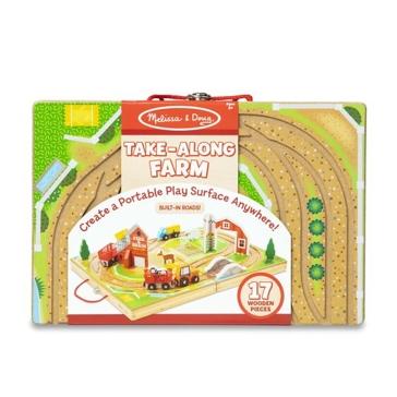 Melissa & Doug Take-Along Farm Play Set 30142