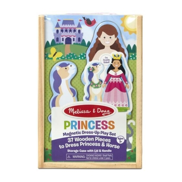 Melissa & Doug Princess Magnetic Dress-Up Play Set 30321