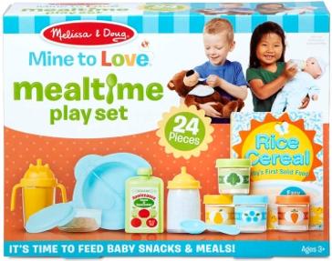 Melissa & Doug Mine to Love Mealtime Play Set 31708