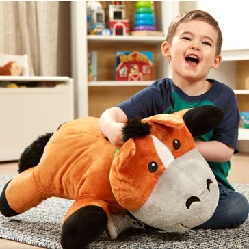 Melissa & Doug Jumbo Plush Cuddle Horse Stuffed Animal 30702