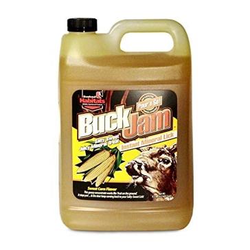 Buck Jam Sweet Corn Instant Mineral Lick 1 Gallon
