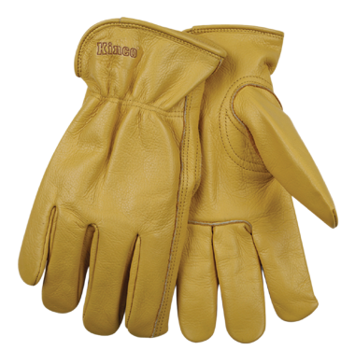 Kinco Unlined Grain Cowhide Leather Driver Gloves
