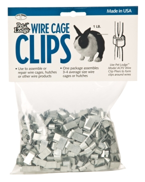 Pet Lodge Cage Clips 1lb
