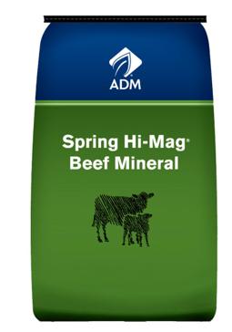 ADM Spring Hi Mag Mineral 50lb
