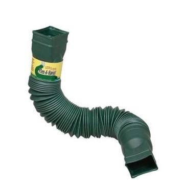 Amerimax Flex-A-Spout Gutter Downspout Extender Green