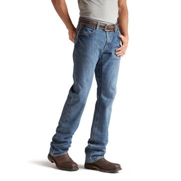 Ariat Mens Fr M4 Low Rise Bootcut Jeans 10012552 Flint