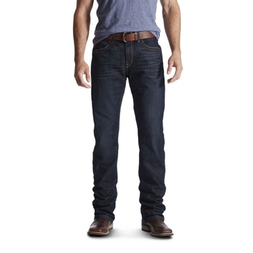 Ariat Mens Rebar Fashion M4 Lowrise Bootcut Jeans 10016220