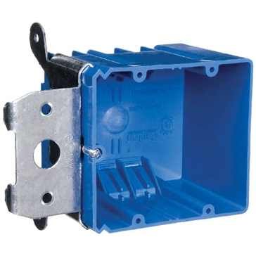Thomas & Betts PVC Switch Boxes 2G Wall Box Double Gang B234ADJ