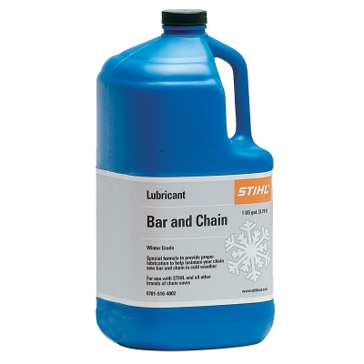 Stihl Winter Grade Bar and Saw Chain Lubricant 1Gal