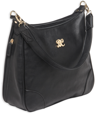 Bulldog Hobo Style Concealed Carry Purse Black