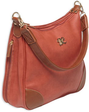Bulldog Hobo Style Concealed Carry Purse Brick Red