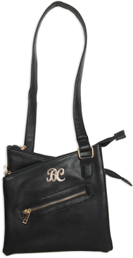 Bulldog Cross Body Style Concealed Carry Purse Black