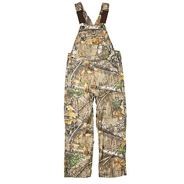 Berne Men's Realtree Edge Camo Bib Overalls GB948EDG