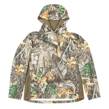 Berne Realtree Edge Camo Fleece Hooded Pullover GSFP03