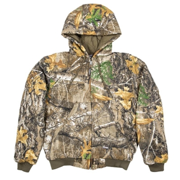 Berne Men's Realtree Edge Camo Insulated Hooded Jacket GJ51