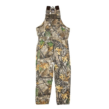 Berne Men's Realtree Edge Camo Insulated Bibs GB20