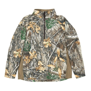 Berne Stalker 1/4-Zip Realtree Edge Performance Shirt GSH18