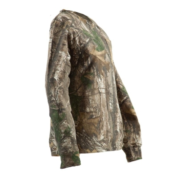 Berne Youth Long Sleeve Realtree Edge Camo T-Shirt GBKM23