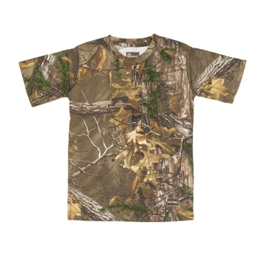 Berne Youth Short Sleeve Realtree Edge Camo T-Shirt GBKM16