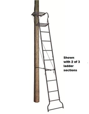 Big Dog Dash Hound 16ft Ladder Tree Stand