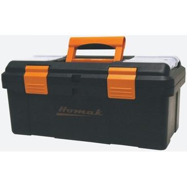 "Homak 16"" Plastic Tool Box BK00116004"