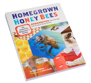 Little Giant Homegrown Honey Bees Beekeeping Book by Alethea Morrison