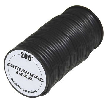 GHG Quick-Fix Decoy Cord 200ft Spool Black