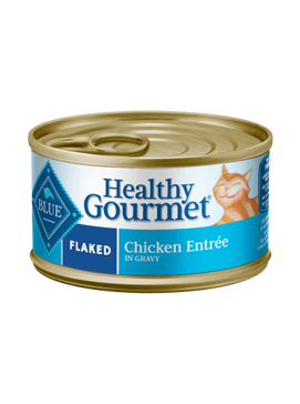 BLUE Healthy Gourmet Flaked Chicken Entrée Can Cat Food