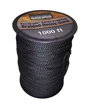 GHG Pro-Grade Braided Decoy Cord 1,000ft Spool Camo
