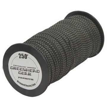 GHG Pro-Grade Braided Decoy Cord 250ft Spool Camo
